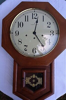 Hamilton 8 Day Westminster Chime Wall Clock Working With