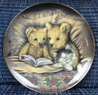 BEDTIME STORY Franklin Mint by Sue Willis Limited Edition Plate No. JF5368