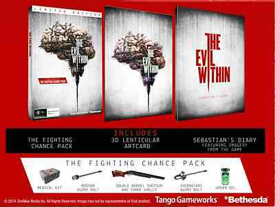The Evil Within Limited Edition PS4 PAL AUS *BRAND NEW* + Warranty!!