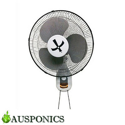 """16"""" WALL MOUNT FAN Power Saver For Your Home Or Hydroponics Set Up!"""