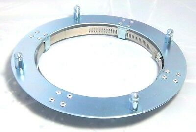 """trailer mounting brackets(2) for 8"""" ID hub cap mounts directly on oil seal cap"""