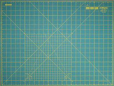 "OLFA Cutting Mat RM-IC-S 18"" X 24"" (450mm x 600mm) Fabric Leather Paper"