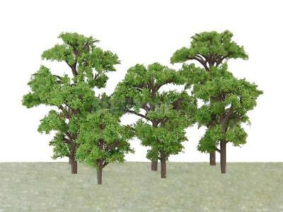 20pcs Mixed Height Banyan Model Tree Train Railway Garden Park Wargame Scenery