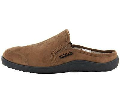 Men's NORTHSIDE KEATON Brown Slippers Slip On Casual Scuffs House Shoes New
