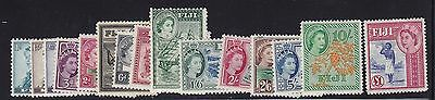 Fiji Scott #147-152 set F-VF mint lightly hinged nice color cv $ 125 ! see pic !