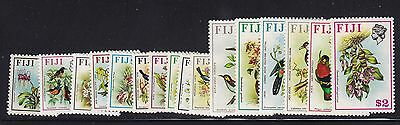 Fiji Scott # 305-320 set VF mint lightly hinged nice color cv $ 41 ! see pic !