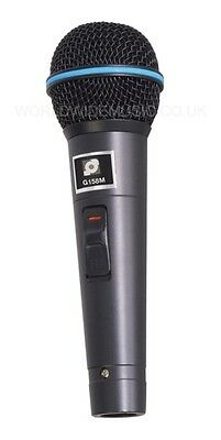 Soundlab Dynamic Handheld Microphone with Lead and ABS Carry Case