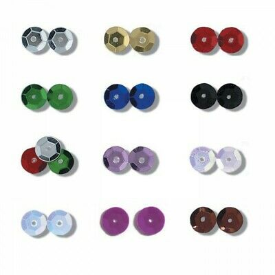 8mm Shiny Craft Cup Sequins Trimits Pack Of 160