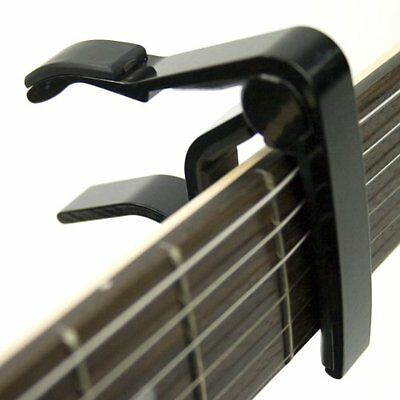 Tiger Black Universal Trigger Guitar Capo for Acoustic, Classical and Electric