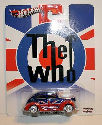 HOT WHEELS THE WHO FAT FENDERED '40 REAL RIDERS 1:64
