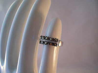 Marcasite Sterling Silver 925 NF Ring Size 7 Vintage Estate Nickel Free Vintage