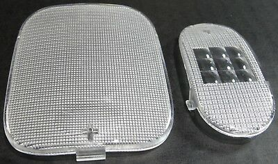 dome light lens set clear plastic for Freightliner Century Columbia Coronado 06
