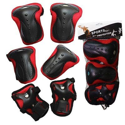 Elbow Knee Wrist Protective Guard Safety pads skate bicycle young adult and Teen