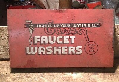 AWESOME GRIZZLEY Faucet Washers Bin-some Washers In It-COOL GRAPHICS-6