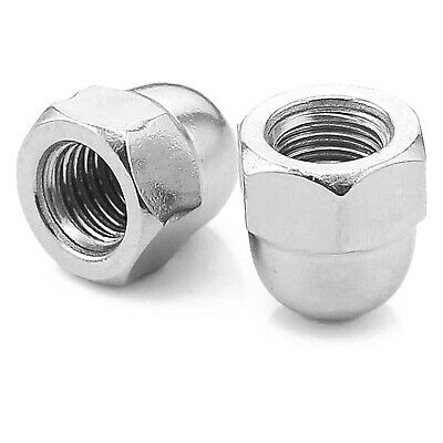 """10-32"""" 1/4"""" 5/16"""" 3/8"""" 1/2"""" 5/8"""" Unf A2 Stainless Hex Dome Cover Nuts, Nut Bolt"""