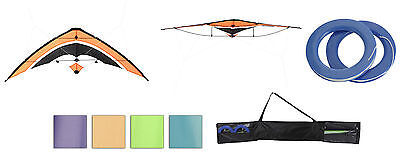 Children's Stunt Kite 1.6M 2 Line Ready to Fly Choice of 4 Colours