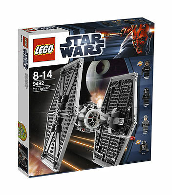 LEGO Star Wars TIE Fighter (9492) NEW! Sealed Box. Retired Set!