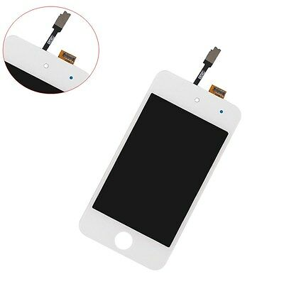 For iPod Touch 4th Gen White Front Glass Screen Digitizer LCD Display Assembly