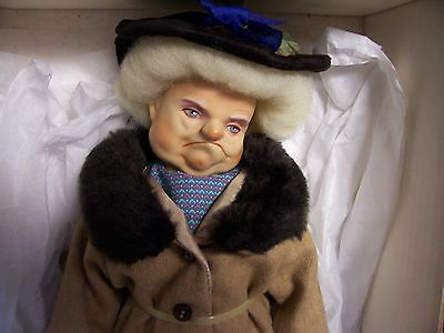 """Collectible doll by  Dakin  """"The Bag Lady""""  1986"""