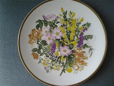CAVERSWALL WILDFLOWERS PLATE LANE AND HEDGROW NO 2 MARY GRIERSON SPINK
