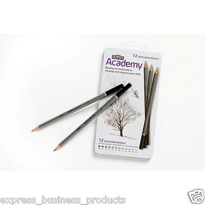 Derwent Academy Sketch Pencils 12 Pack - 2301946