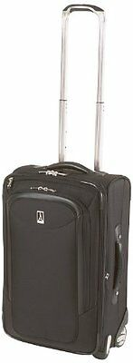 """Travelpro Luggage Platinum Magna 22 Inch Expandable Rollaboard Suiter 22"""" Black"""
