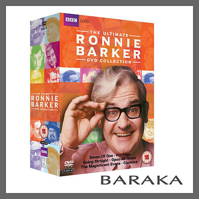 The Ronnie Barker Ultimate Collection DVD Box Set R4 Open All Hours Porridge