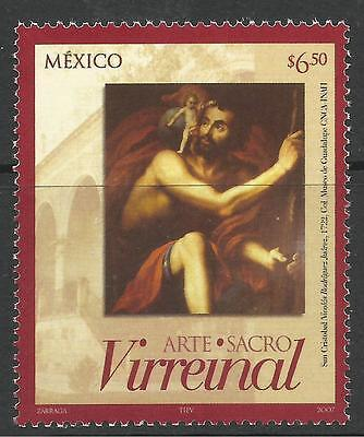 MEXICO. 2007. Scared Art Commemorative. SG: 3019. Mint Never Hinged.