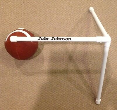 Football Kicking Tee Holder with Custom Name