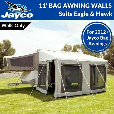 11' ft Jayco Bag Awning Walls Only / Annexe for New Eagle & Hawk Camper Trailer