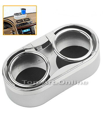 Durable Convenient Auto Car Truck Mount Dual Drink Cup Holder Can Bottle Stand