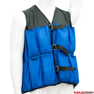 Weighted Vest 10kg Weight Loss Fitness Exercise Home Gym Running Training Jacket