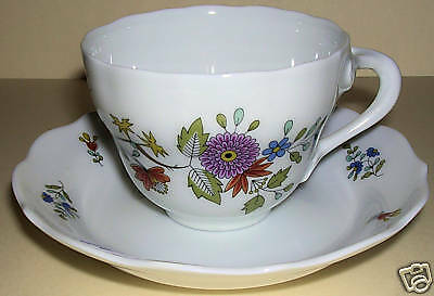 Fine Antique Germany Demitasse Cup & Saucer, Hutschenreuther