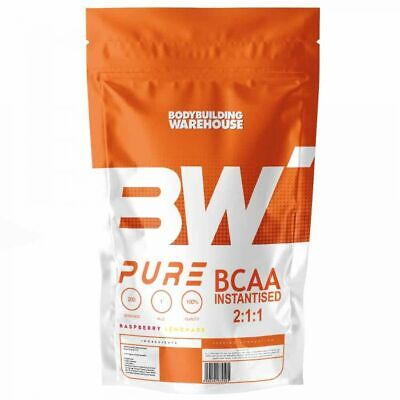 Pure BCAA Powder Amino Acids 100% Instantised Intra Workout 250g - 1kg Free P&P