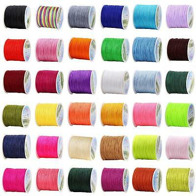 25 Color Strong Stretchy Crystal Elastic Cord Rope String Beading Bracelet 10M
