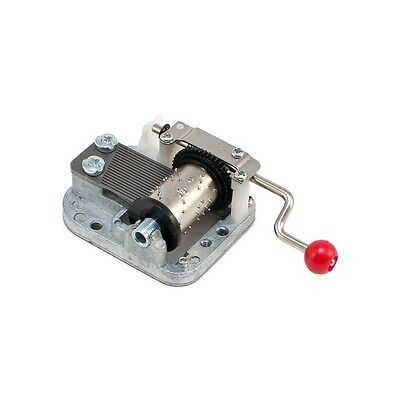 Tiny Hand Crank Musical Music Box Mechanical Movement Choose Song