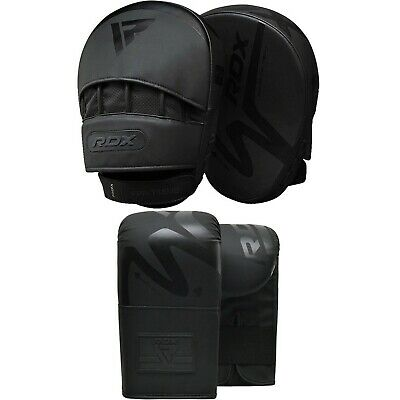 RDX Thai Kick Boxing Strike Curved Arm Pad MMA Focus Muay Punch Shield Mitt F AU