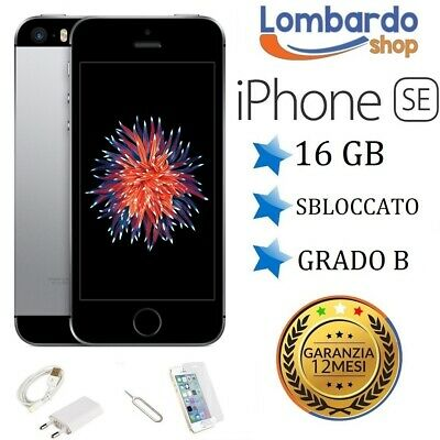 Iphone 5S Ricondizionato 16Gb Grado A Nero Grey Originale Apple Rigenerato 16