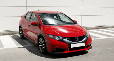HONDA CIVIC MK IX ( from 2012 ) FRONT LIP / SPLITTER / VALANCE / SPOILER