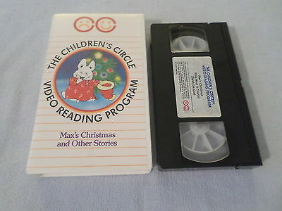 CHILDREN'S CIRCLE - MAX'S CHRISTMAS and Other Stories (VHS)