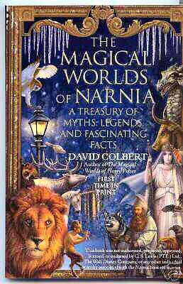 MAGICAL WORLDS OF NARNIA DAVID COLBERT C.S. LEWIS