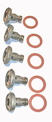 Holley Power Valve 2.5 3.5 4.5 5.5 6.5 7.5 8.5 9.5 10.5 5 PACK NEW
