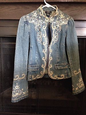 Beautiful Embroidered Denim Jacket From Nordstrom