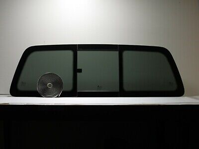 Fits: 1997-2003 Ford F150 Back Glass Rear Manual Sliding Window + Butly Tape