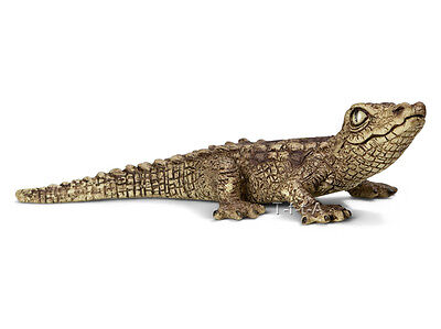 FREE SHIPPING   Schleich 14683 Baby Crocodile Reptile Toy New- New in Package