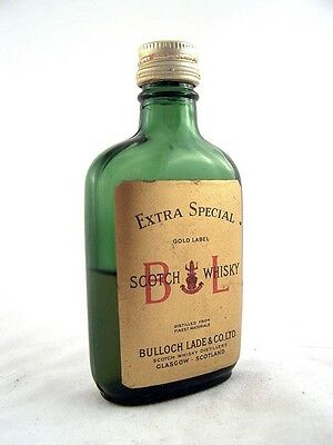 Miniature circa 1965 BULLOCH LADE Scotch Whisky Isle of Wine