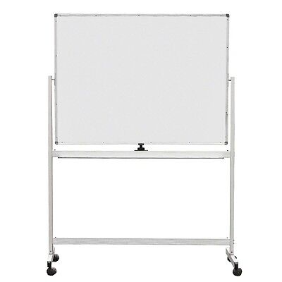 Portable 900X1800Mm Double Side Magnetic Whiteboard W/aluminum Stand Wheels