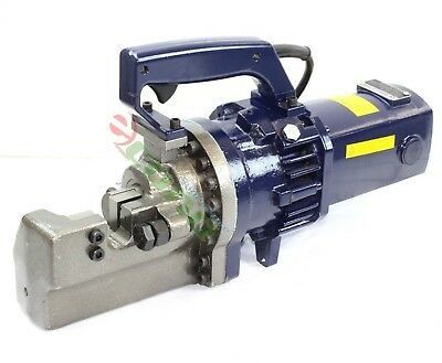 "Electric Hydraulic Rebar Cutter Cutting 1"" (25MM) Metal Bar 110 Volt 1440W HD"