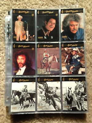 1992 Collect-A-Card Country Classics 100 Card Base Set in Great Condition