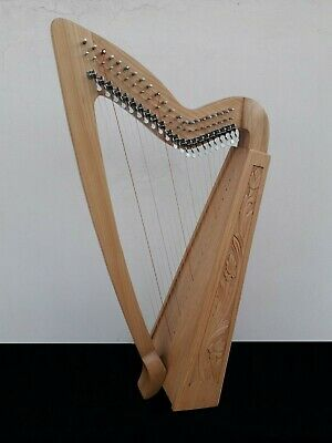 Geoffrey | Limerick 22 Strings Rosewood | Gevon Irish Harp with levers | H10L